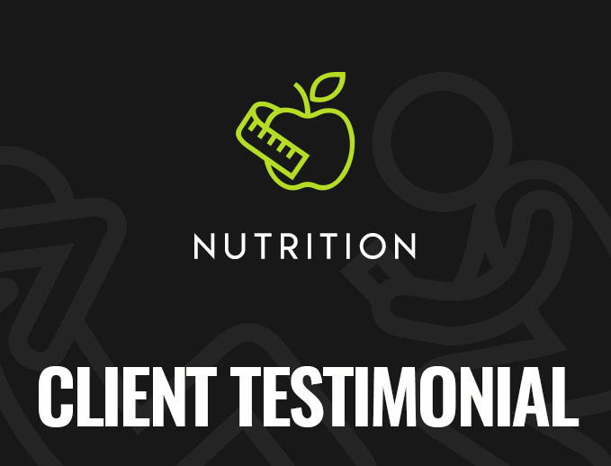 Banks-O'Dee Fitness - Nutrition Testimonial